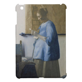 Woman Reading a Letter, c.1662-63 (oil on canvas) iPad Mini Case