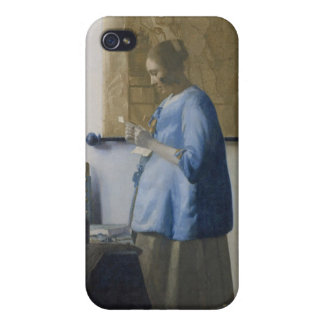 Woman Reading a Letter, c.1662-63 (oil on canvas) iPhone 4/4S Covers