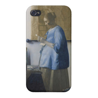 Woman Reading a Letter, c.1662-63 (oil on canvas) iPhone 4 Cover