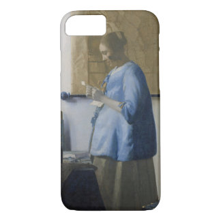 Woman Reading a Letter, c.1662-63 (oil on canvas) iPhone 7 Case