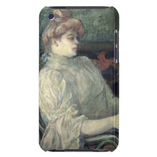 Woman Reading iPod Touch Case