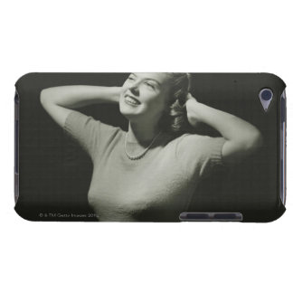 Woman Relaxing Barely There iPod Case