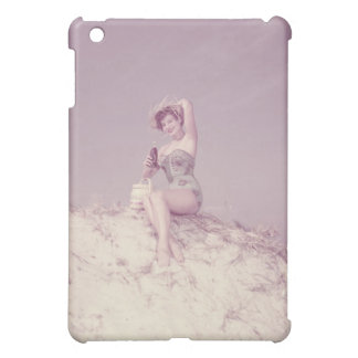 Woman Relaxing on Beach Case For The iPad Mini