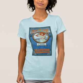 Woman Riding Ferry - Bellingham Washington T Shirts