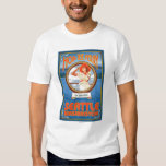 Woman Riding Ferry - Seattle, Washington Tshirt