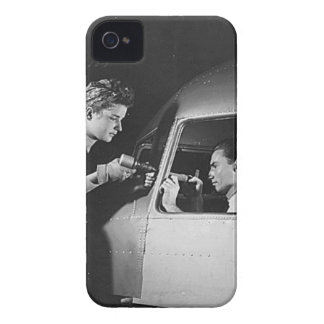Woman Riveting on Aircraft iPhone 4 Cover