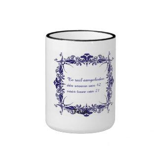 Woman ruil. ringer mug