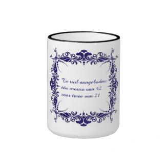 Woman ruil! ringer mug