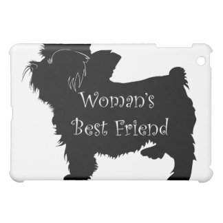 Woman's Best Friend dog silhouette of toy terrier Case For The iPad Mini