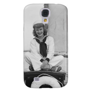 Woman Sailor Galaxy S4 Case