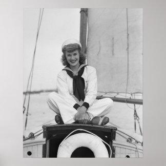Woman Sailor Poster