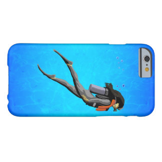 Woman SCUBA Diving Barely There iPhone 6 Case