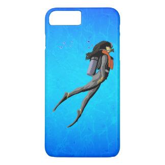 Woman SCUBA Diving iPhone 7 Plus Case