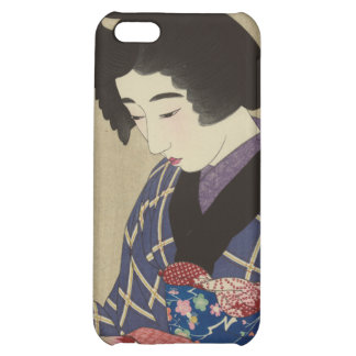 Woman Sewing, Itō Shinsui - Japanese Woodblock iPhone 5C Cover