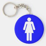 Woman Shape Key Chains