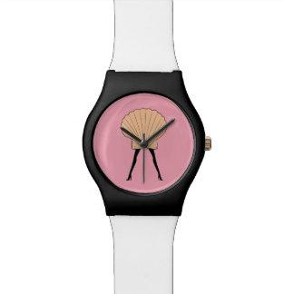 Woman shell wrist watches