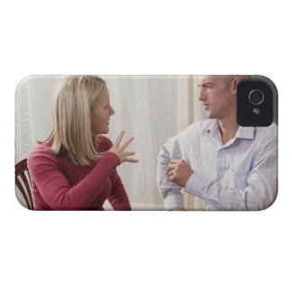 Woman signing the word 'Fine' in American Sign Case-Mate iPhone 4 Cases