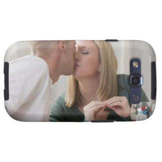 Woman signing the word 'Kiss' in American Sign Samsung Galaxy SIII Cases