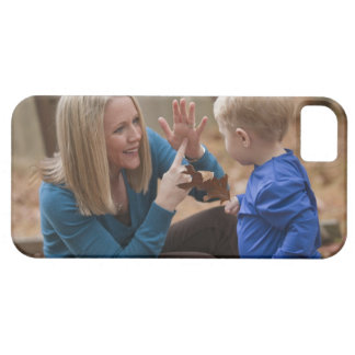 Woman signing the word 'Leaf' in American Sign iPhone 5 Covers