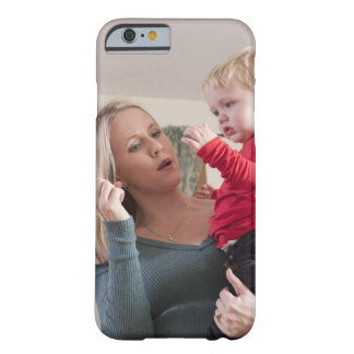 Woman signing the word 'Milk' in American Sign Barely There iPhone 6 Case