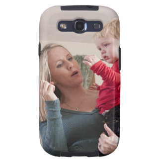 Woman signing the word 'Milk' in American Sign Samsung Galaxy S3 Cover