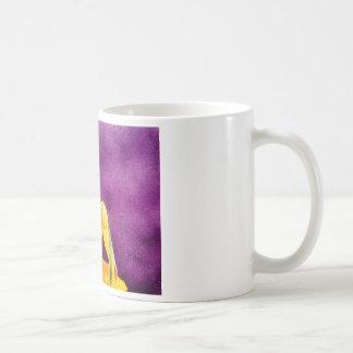 Woman sitting in sunlight coffee mug