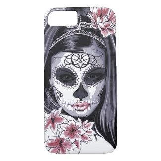 Woman skeleton mask iPhone 8/7 case