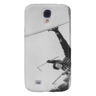 Woman Skier 2 Galaxy S4 Case