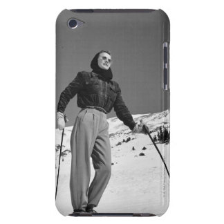 Woman Skier Barely There iPod Cover