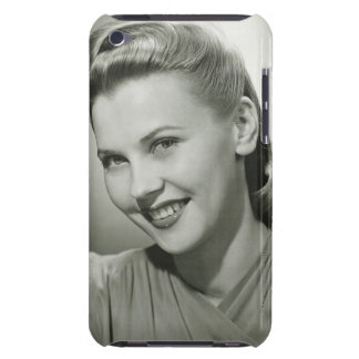 Woman Smiling 2 Barely There iPod Covers