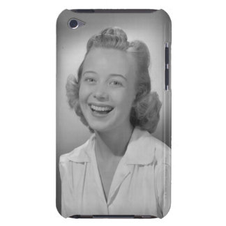 Woman Smiling iPod Touch Case
