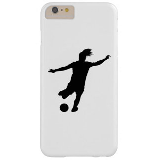 Woman Soccer Player Barely There iPhone 6 Plus Case