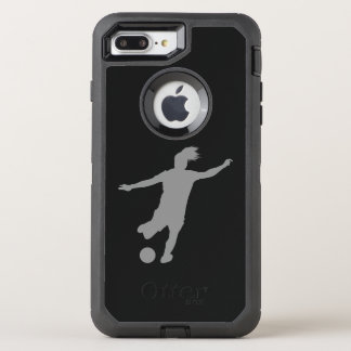 Woman Soccer Player OtterBox Defender iPhone 8 Plus/7 Plus Case