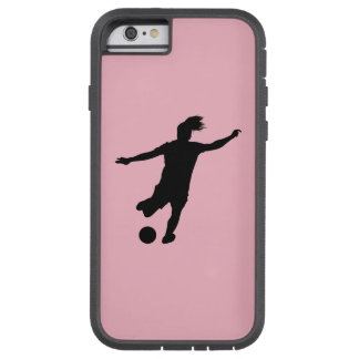 Woman Soccer Player Tough Xtreme iPhone 6 Case