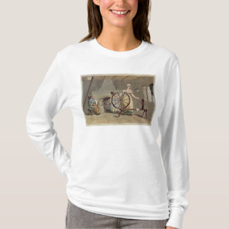 Woman Spinning, from 'Costume of Yorkshire' T-Shirt