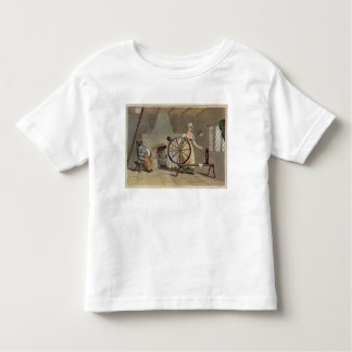 Woman Spinning, from 'Costume of Yorkshire' Toddler T-Shirt