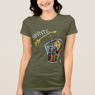 Woman Spritz T-shirt - Italian Energy Drink