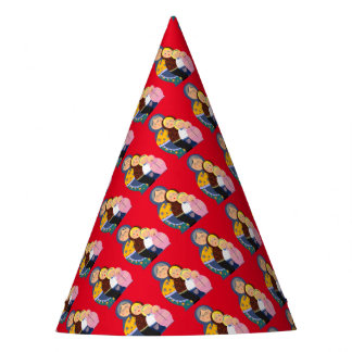 Woman Stages Of Life Matryoshka Dolls Party Hat