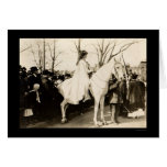 Woman Suffrage Parade 1913 Greeting Card