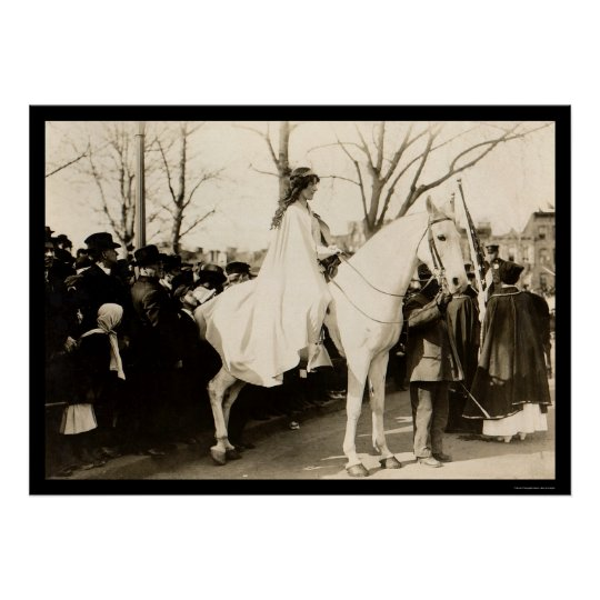 Woman Suffrage Parade 1913 Poster