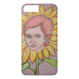 Woman Sunflower iPhone 7 Plus Case