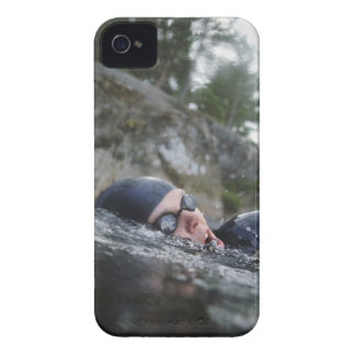 Woman swimming, close-up Case-Mate iPhone 4 cases