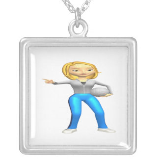 Woman Volleyball Coach Necklaces