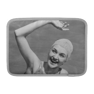 Woman Waving Sleeve For MacBook Air