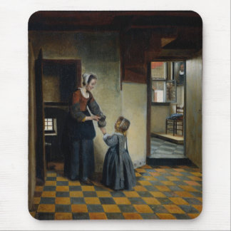 Woman With A Child In A Pantry Mouse Pad