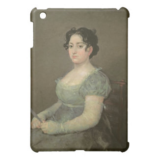 Woman with a Fan, c.1805-06 (oil on canvas) iPad Mini Case