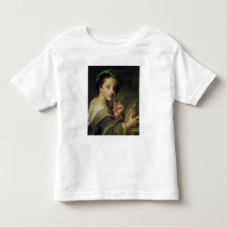 Woman with a Glass of Wine Toddler T-Shirt