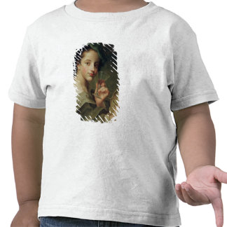 Woman with a Glass of Wine T Shirt