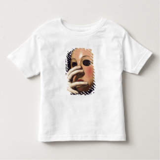 Woman with a Mask Toddler T-Shirt