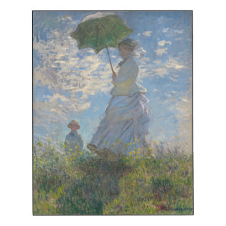 Woman with a Parasol by Claude Monet GalleryHD